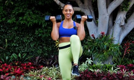 35 Minutes Apartment Friendly Workout With Dumbbells