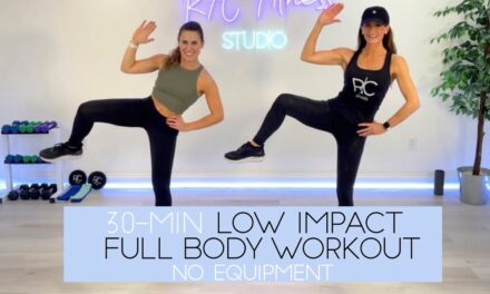 30 Minutes Low Impact Full Body Workout, No Equipment